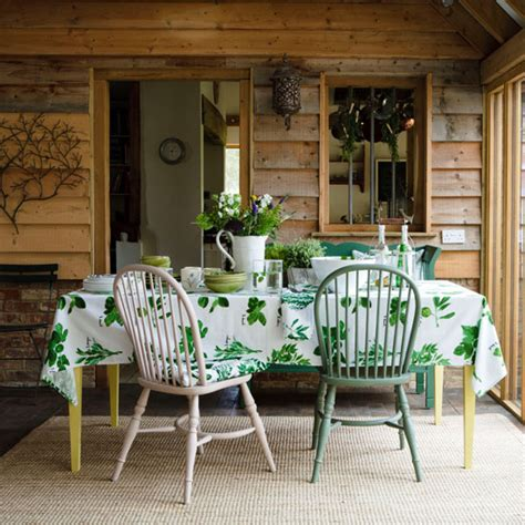 green country dining room dining room idea ideal home