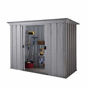 Abri De Jardin Metal Castorama : yardmaster abri de jardin en m tal 2 36m achat vente ~ Dailycaller-alerts.com Idées de Décoration