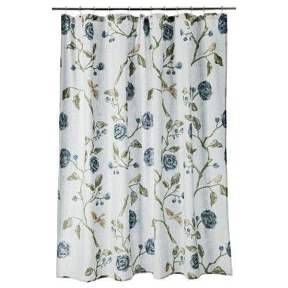 1000 ideas about floral shower curtains on