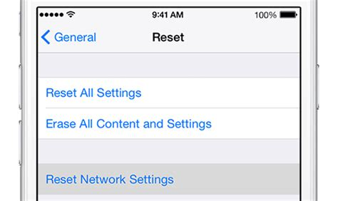 reset network settings iphone iphone won t send picture messages fix it now