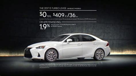 lexus commercial actor 2017 2017 lexus is turbo tv commercial 39 body language
