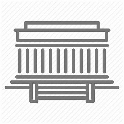 Lincoln Dc Icon Abraham Memorial Washington Outline