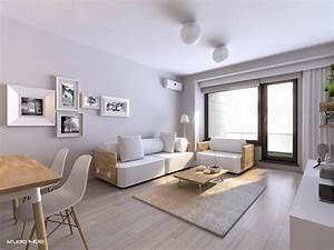 deco salon gris et blanc donnez vie a votre interieur With deco entree de maison 13 vert deco de la peinture verte pour decorer son