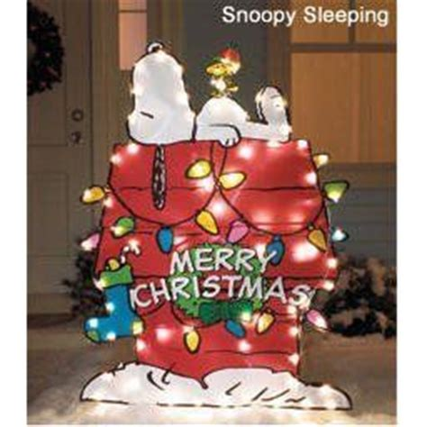 peanuts snoopy outdoor decorations  dog houses
