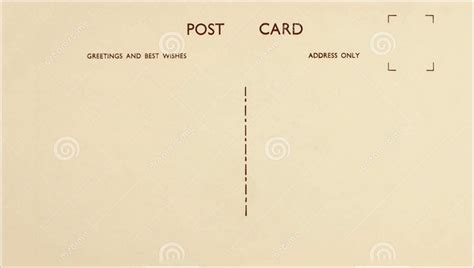 blank postcard template hq template documents