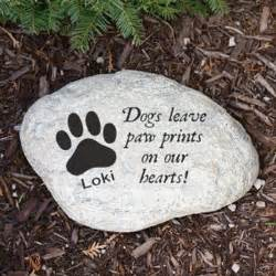 Engraved In Loving Memory Dove Garden Stone