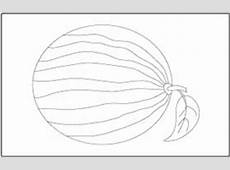 Fruits Coloring and Tracing Pages