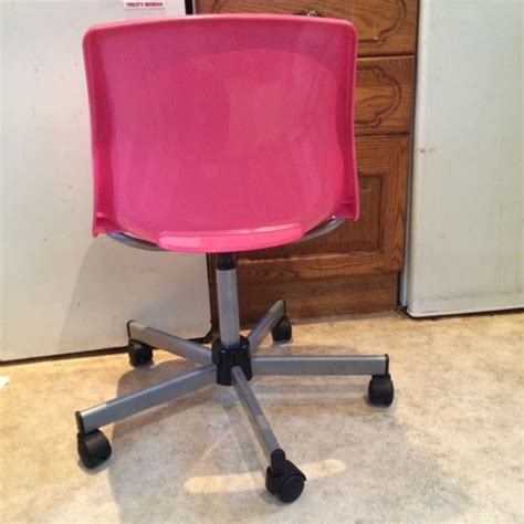 Snille Swivel Chair by Ikea Snille Swivel Chair Pink For Sale In Glasnevin
