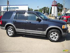 2002 Ford Explorer Xlt In Deep Wedgewood Blue Metallic - B51938