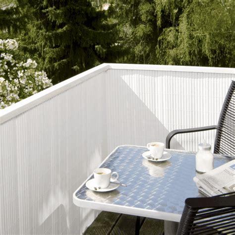 Sichtschutz Fuer Die Terrasse Aus Bambus Oder Aus Kunststoff by Balkon Sichtschutz Bambus Bambus Deutschland