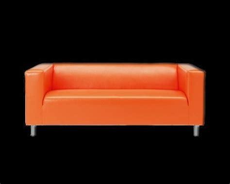 vente canape ikea occasion canapé 39 klippan 39 d 39 ikea orange klippan