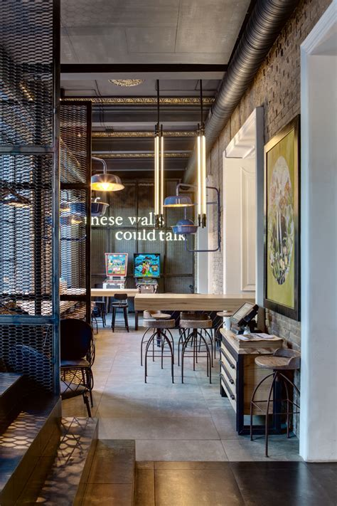 Dogs & Tails Bar and Café in Kiev by Sergey Makhno