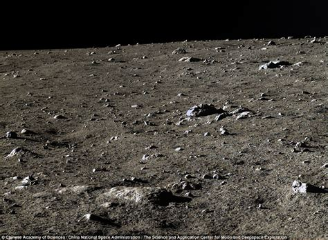chinese space agency   lunar lander images