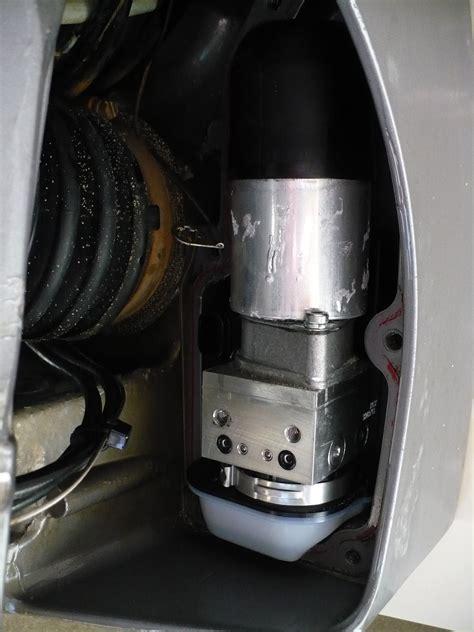 adjusting volvo penta steering  hull truth