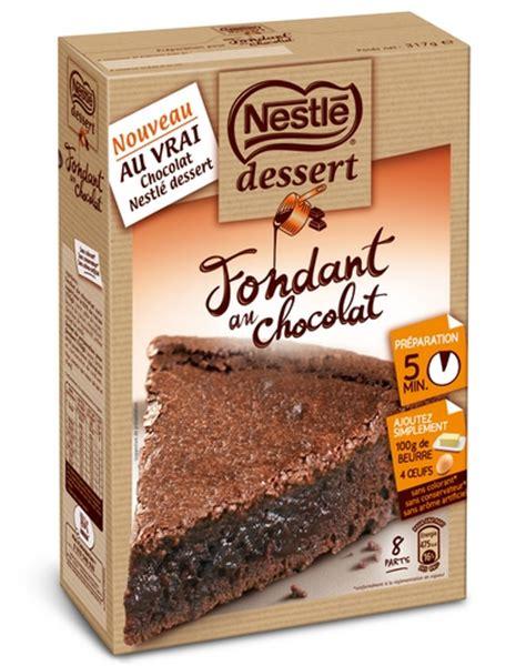 fondant chocolat nestle dessert concours nestl 233 dessert gagnez des lots chocolat 233 s