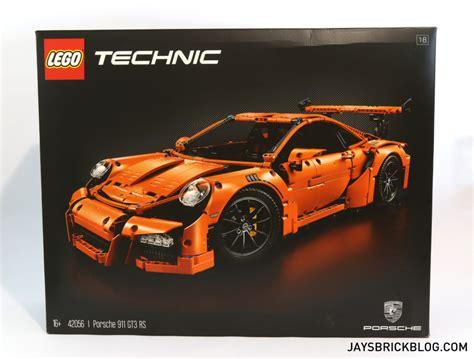 lego technic porsche 911 unboxing the lego technic 42056 porsche 911 gt3 rs s