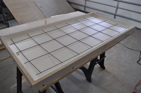 how to make a concrete table top how to build a concrete table for beginners