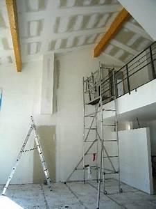 Bien Peindre Un Plafond : peindre un plafond sous rampant 20 messages ~ Melissatoandfro.com Idées de Décoration