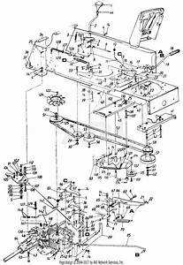 Mtd 145y834p401  1995  Parts Diagram For Drive Assembly  Pedal Assembly  Transmission Linkage