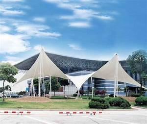 Etfe Tensile Membrane Structure Gymnasium Bleacher