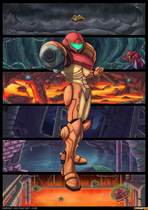 The Game Art Hq Community Pays Tribute To Super Metroid