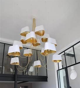 Grand Lustre Design : nuage lustre 6 petit chandeliers de designheure architonic ~ Melissatoandfro.com Idées de Décoration