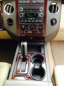 ford expedition le xlt limited interior wood dash trim kit
