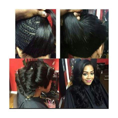 Sew In Hairstyles With No Hair Out by Sew In No Leave Out Hairstyles In 2019 Hair