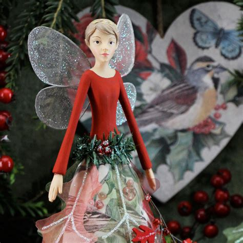fairy christmas decoration  gisela graham gisela
