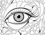 Coloring Pages Eye Eyes Anime Realistic Sheet Angry Drawing Eyeball Preschool Sad London Hair Colouring Transparent Getdrawings Crayola Getcolorings Printable sketch template