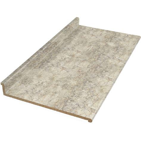 lowes laminate countertop shop vti laminate countertops 10 ft crema mascarello
