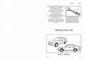 Mercedes W210 Fiche Technique : revue technique mercedes w202 notice manuel d 39 utilisation ~ Medecine-chirurgie-esthetiques.com Avis de Voitures