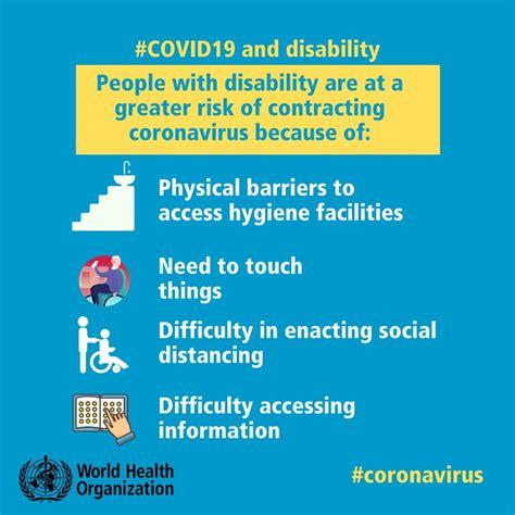 covid  risk  people  disability botswana youth