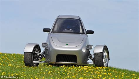 Three-wheeled Commuter Car With A Price Tag