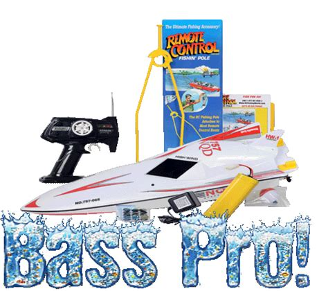 Bass Pro Shop Rc Fishing Boat by Buy The Original Quot Rc Fishing Pole Quot Fits Any R C Boat