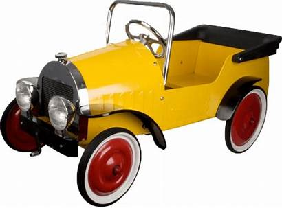 Pedal Yellow Classic Cars Toys Direct Transparent