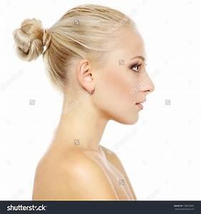 Woman Side Profile Right  17