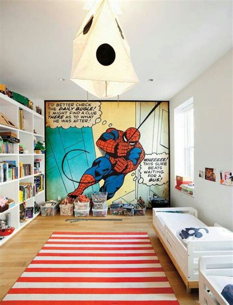 cool teen bedroom ideas that will your mind 35 cool teen bedroom ideas that will blow your mind 35 | Spiderman themed teen boys bedroom decor