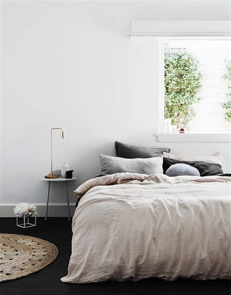 light pink and gray bedding 5 favorites pale pink linen sheets roundup remodelista