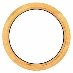 Oeil De Boeuf Bois : oeil de boeuf bois fixe rond diam 50 cm ~ Nature-et-papiers.com Idées de Décoration