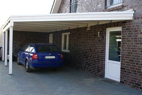 Carport An Haus by Carport Am Haus Anbauen So Muss Das