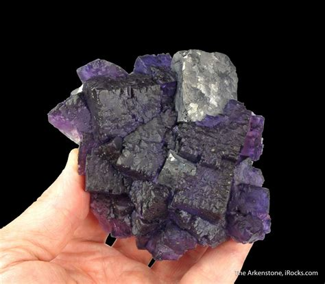 fluorite and galena tuc16x 03 cave in rock area usa