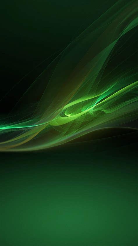 xperia  green wallpaper
