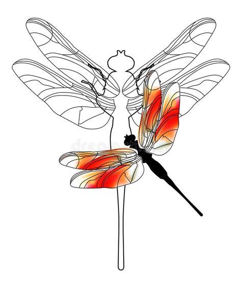 cartoon dragonfly stock illustrations  cartoon