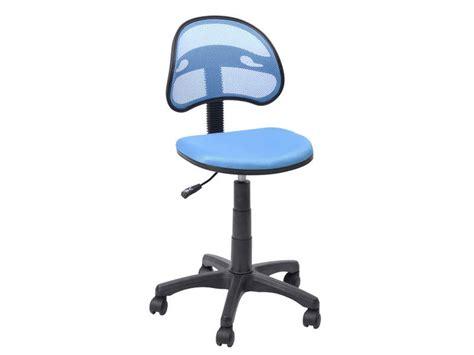 bureau pour ordinateur conforama chaise dactylo azalie coloris bleu vente de fauteuil de