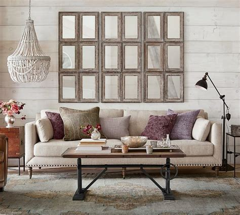 The Sofa Mirror by An Idea For Decorating The Wall Your Sofa Driven
