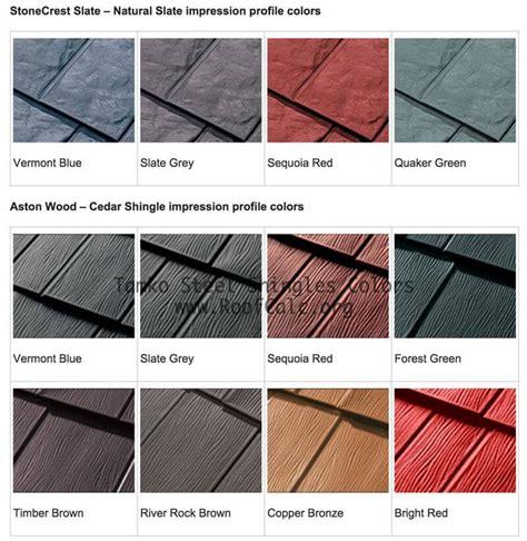 roofing shingles colors best 25 metal roof tiles ideas on metal roof
