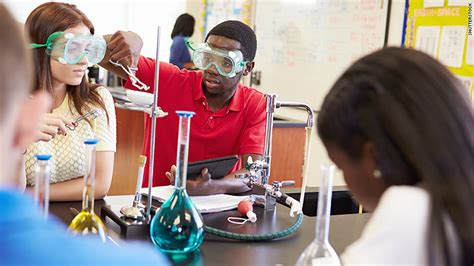 Science Scores Up Among Middle School Students, 12th Grade