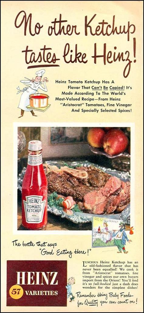 HEINZ KETCHUP WOMAN'S DAY 09/01/1949 p. 11 | Heinz ketchup ...