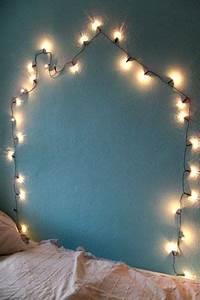 Ideen Mit Lichterketten : die besten 17 ideen zu schlafzimmer lichterkette auf pinterest lichterketten tumblr und ~ Markanthonyermac.com Haus und Dekorationen